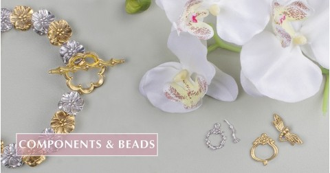 Components & Beads | Quest Beads & Cast - Charms and Beads Made in the USA