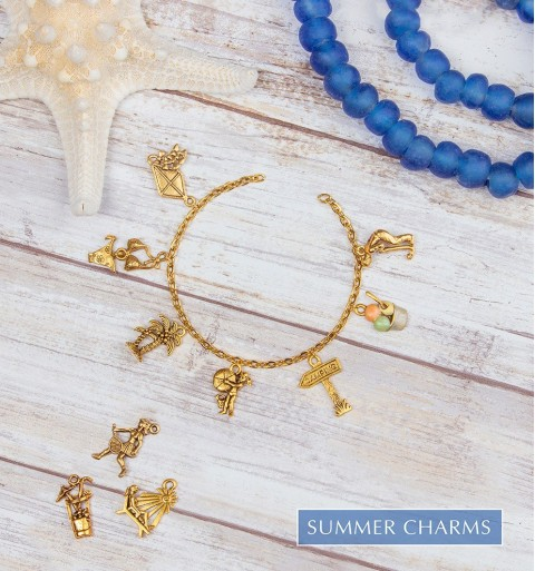 Summer Charms  | Quest Beads & Cast - Charms and Beads Made in the USA