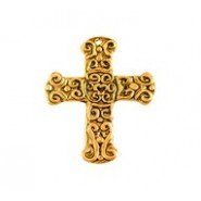 Ancient Cross With Detailed Motif #4937