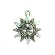 Bead Sun With Face #3607