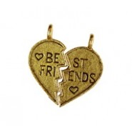 Best Friends Heart 2 Pieces Component #730NM