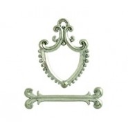 Coat Of Arms Shaped Toggle Set #4728