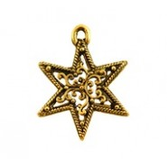 Filigree Star #3516