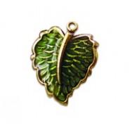 Filigree Leaf - Hand Painted #640HP