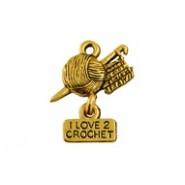 I Love 2 Crochet - Self Linker #3983SL