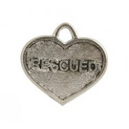 """Rescued"" Dog Or Cat Tag #4578"