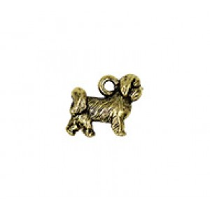 Shih Tzu Dog #6473 | Quest Beads & Cast - Charms and Beads Made in the USA
