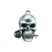 Skull Biting Rose #231