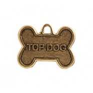 """Top Dog"" Dog Tag #4533"